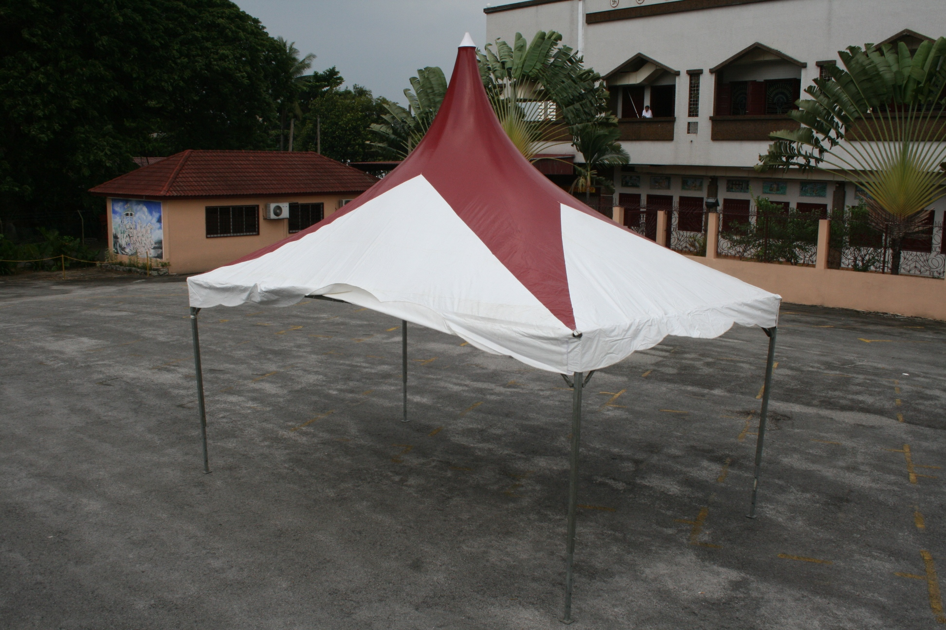 12 x 20 Hitop Maroon Star White Canopy (Outside).JPG & Sinaran Canopy u0026 Events - Products